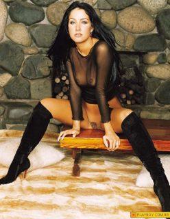 Playboy de Helen Ganzarolli nua, pelada