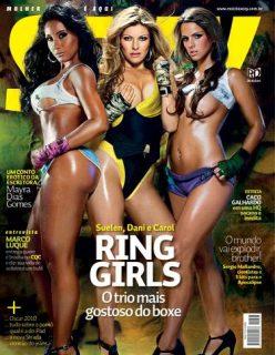 Fotos das Ring Girls Peladas Nuas Sem Roupa