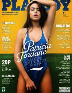 Fotos de Patrícia Jordane Pelada na Playboy de Junho de 2014