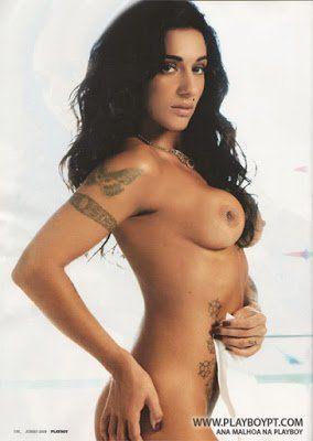 Fotos de Ana Malhoa Pelada Nua na Playboy Portugal