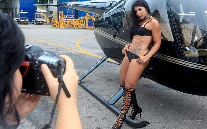 Fotos de Priscila Pires Nua Pelada no Paparazzo