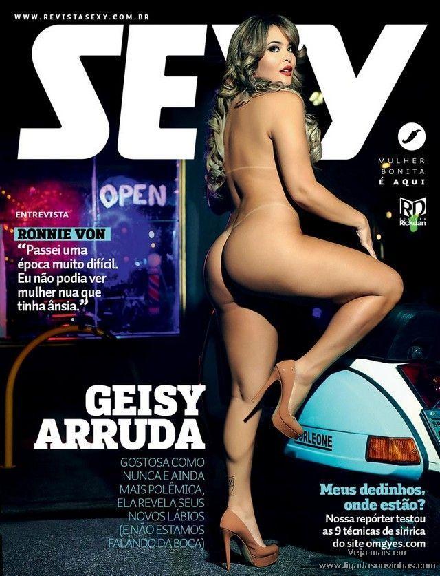 Geisy Arruda Nua Pelada na Sexy Abril de 2016