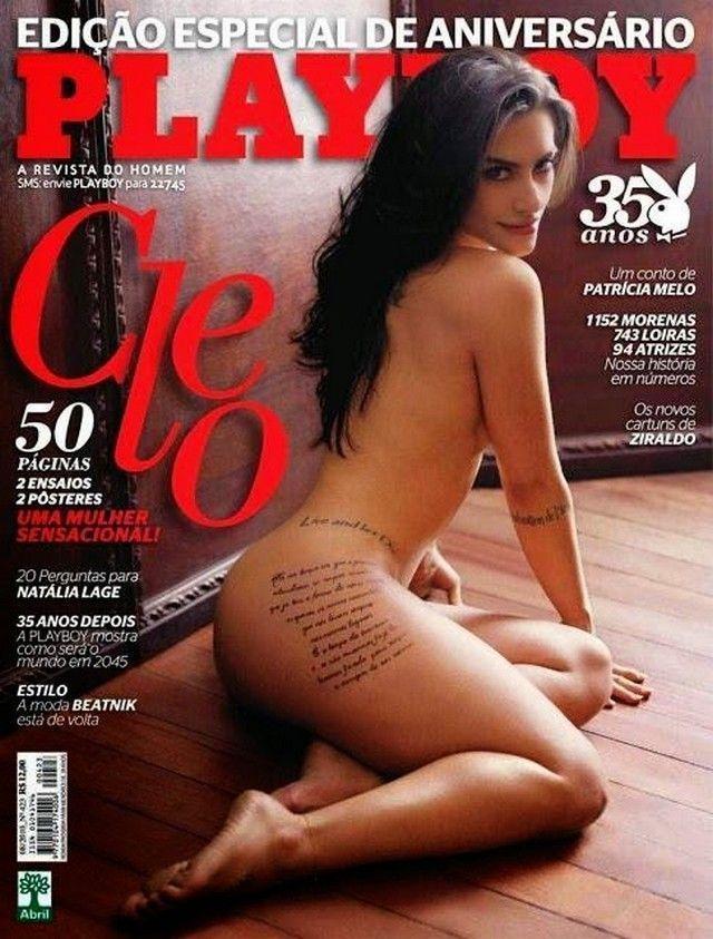 Cleo Pires Nua Pelada na Revista Playboy