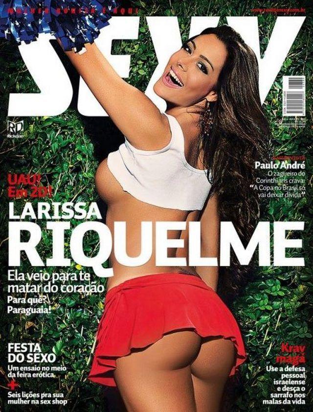 Larissa Riquelme Nua Pelada Gostosa na Sexy