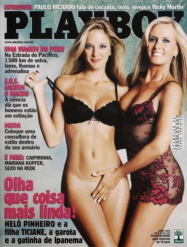 Ticiane Pinheiro Nua Pelada na Playboy