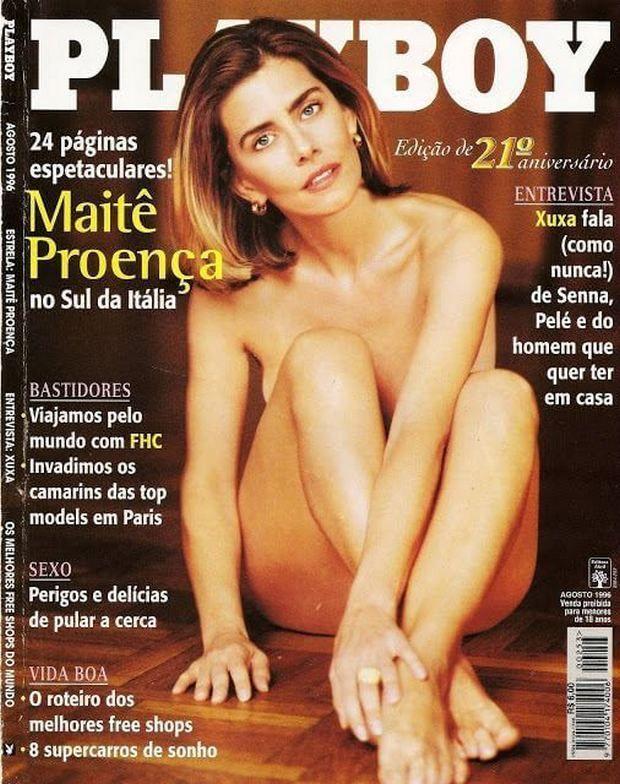 Maite Proença Pelada Nua na Playboy