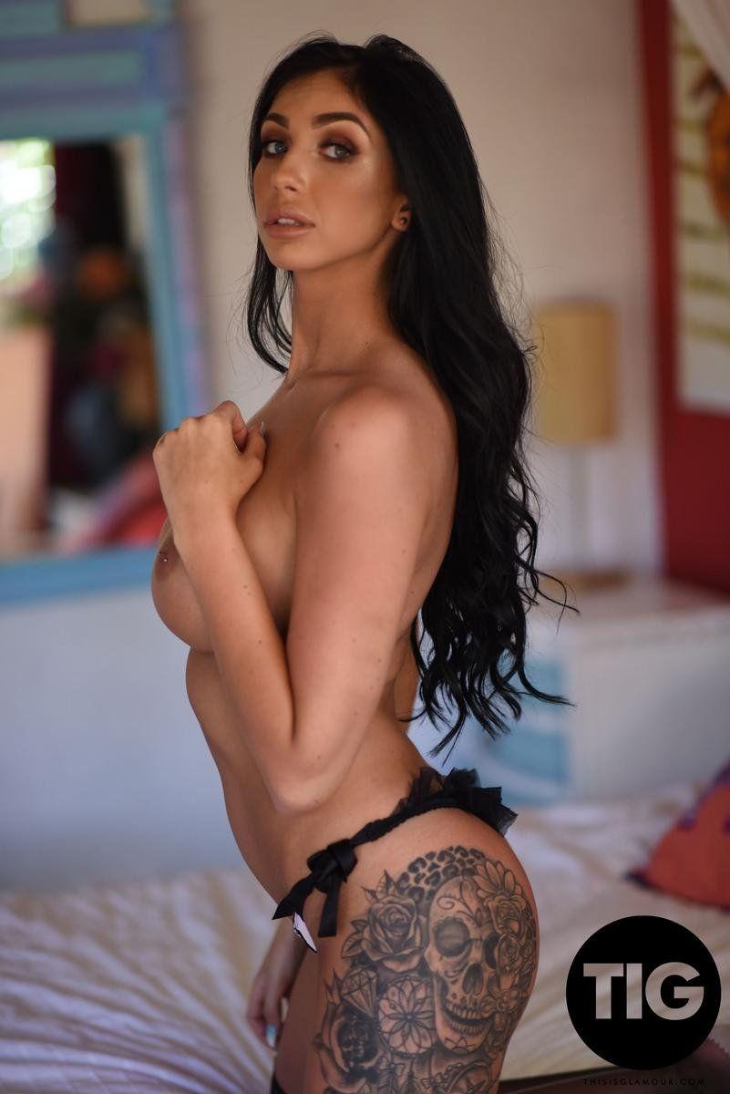 Fotos de Morena Gostosa com Tatuagem na Bunda