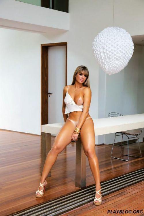 Juju Salimeni Nua na Revista Playboy Mexicana