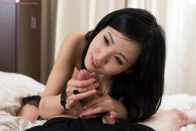 Asiática Meiguinha Masturbando o Namorado