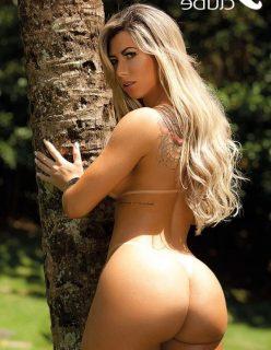 Jéssica Arboleya nua pelada na revista sexy